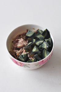 皮蛋瘦肉粥的做法步骤3