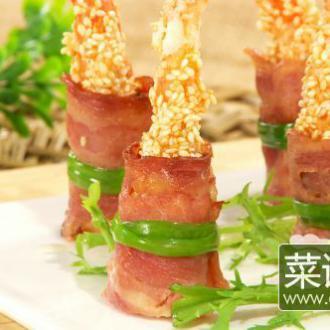 高升芝麻虾