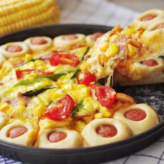 夏日缤纷披萨