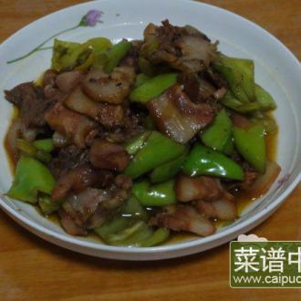 尖椒炒猪头肉