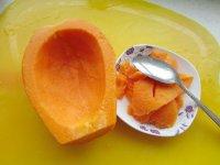 木瓜火腿蛋炒饭的做法步骤4