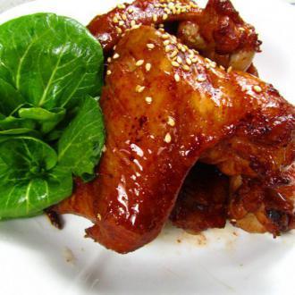 腐乳香烤鸡翅