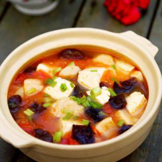 番茄鱼丸豆腐汤