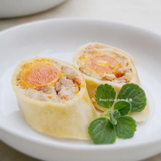 腐皮蛋黄卷