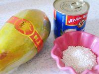 椰奶木瓜西米露的做法步骤1