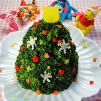 小熊维尼的圣诞树