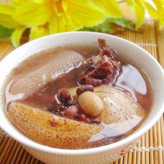 雪梨猪骨祛湿汤