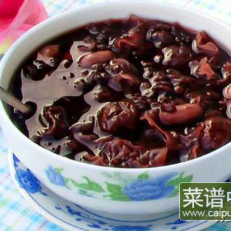 红枣黑米粥-女人的养