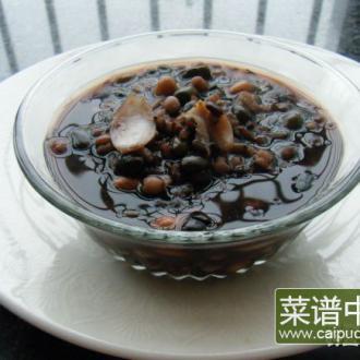 黑豆薏米百合汤