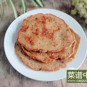 洋葱燕麦饼