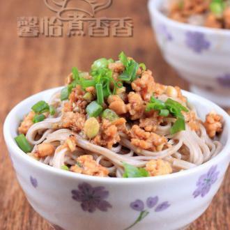 葱香虾酱荞麦面