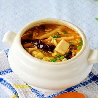 木须酸辣汤