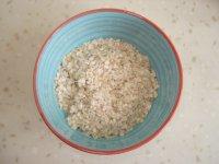 豆浆麦片咸粥的做法步骤1