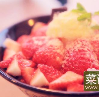 草莓冰雪奇缘