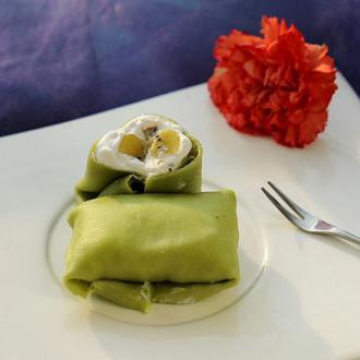 猕猴桃绿茶班戟