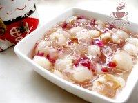 荔枝玫瑰冻羹的做法步骤7