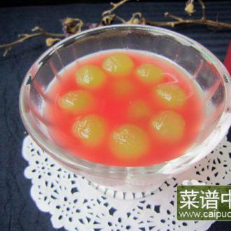 西瓜葡萄汁