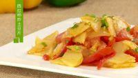 西红柿炒土豆片的做法步骤4