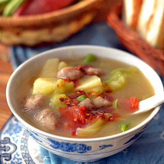 西安肉丸糊辣汤