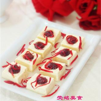 玫瑰花豆腐
