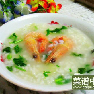 鲜虾冬瓜粥