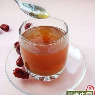 自制红枣蜂蜜茶