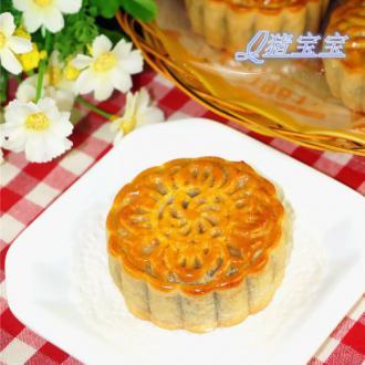 广式红豆蓉月饼