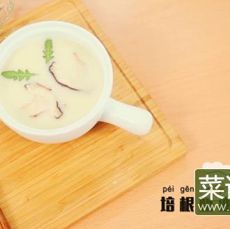培根奶油蘑菇浓汤
