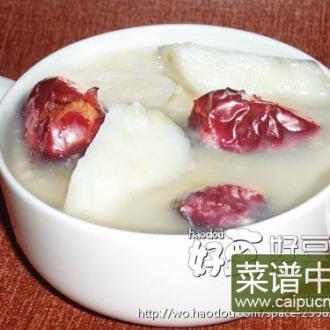 小米红枣山药粥