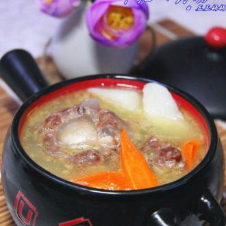 牛尾山药汤