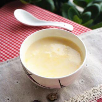 牛奶蛋花汤