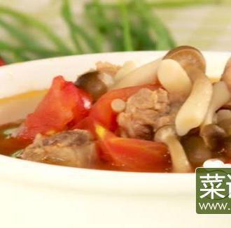 鲜菌排骨汤