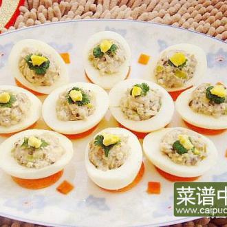 肉酿鸡蛋——十全十美