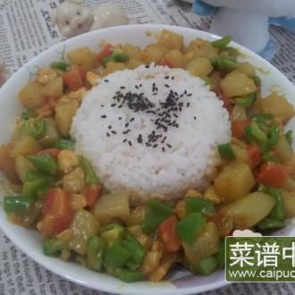 自制咖喱饭