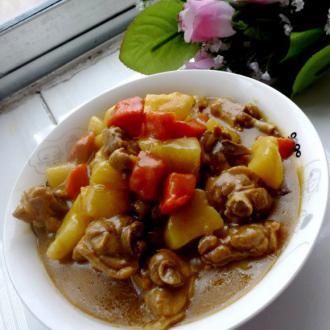 咖喱土豆鸭