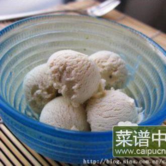 香蕉蛋奶冰淇淋