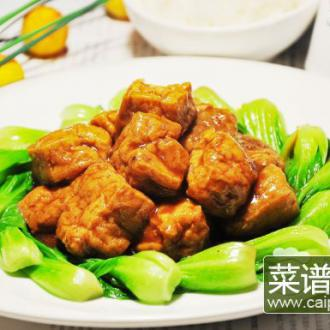 油豆腐夹肉