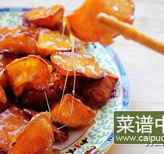 拔丝红薯   百分百成