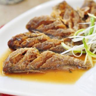 秘制五香小黄鱼