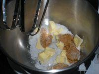 花生酱酸奶磅蛋糕的做法步骤5