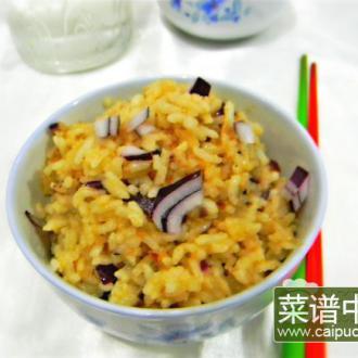 芝麻酱炒饭