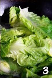 蚝油生菜的做法步骤3