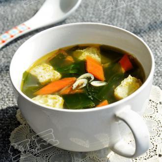 虾皮海带汤