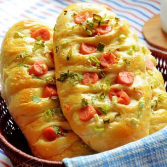 咸香火腿面包