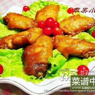 菠萝鸡翅中-首发