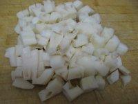 糖醋藕丁的做法步骤1