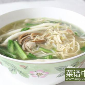 牛肚蔬菜锅
