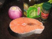 香草烤三文鱼的做法步骤1