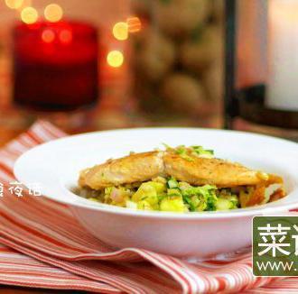 三文鱼苹果沙拉