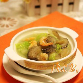 大白菜海参汤